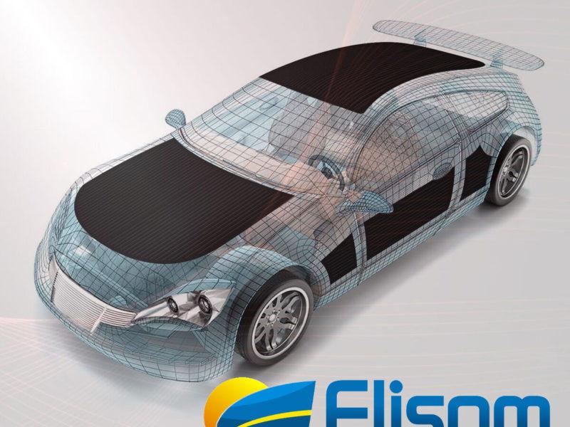 automotive thin film solar Flisom