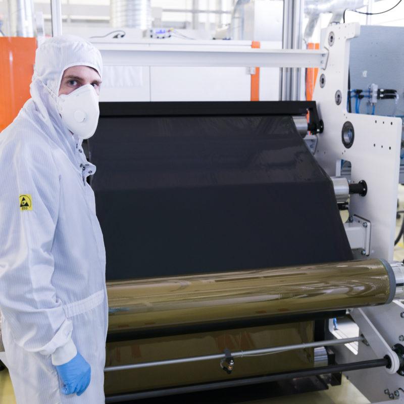 Flisom CIGS Solar Modules