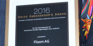 Swiss Ambassador's Award