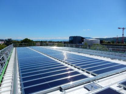 leichtes solar dach