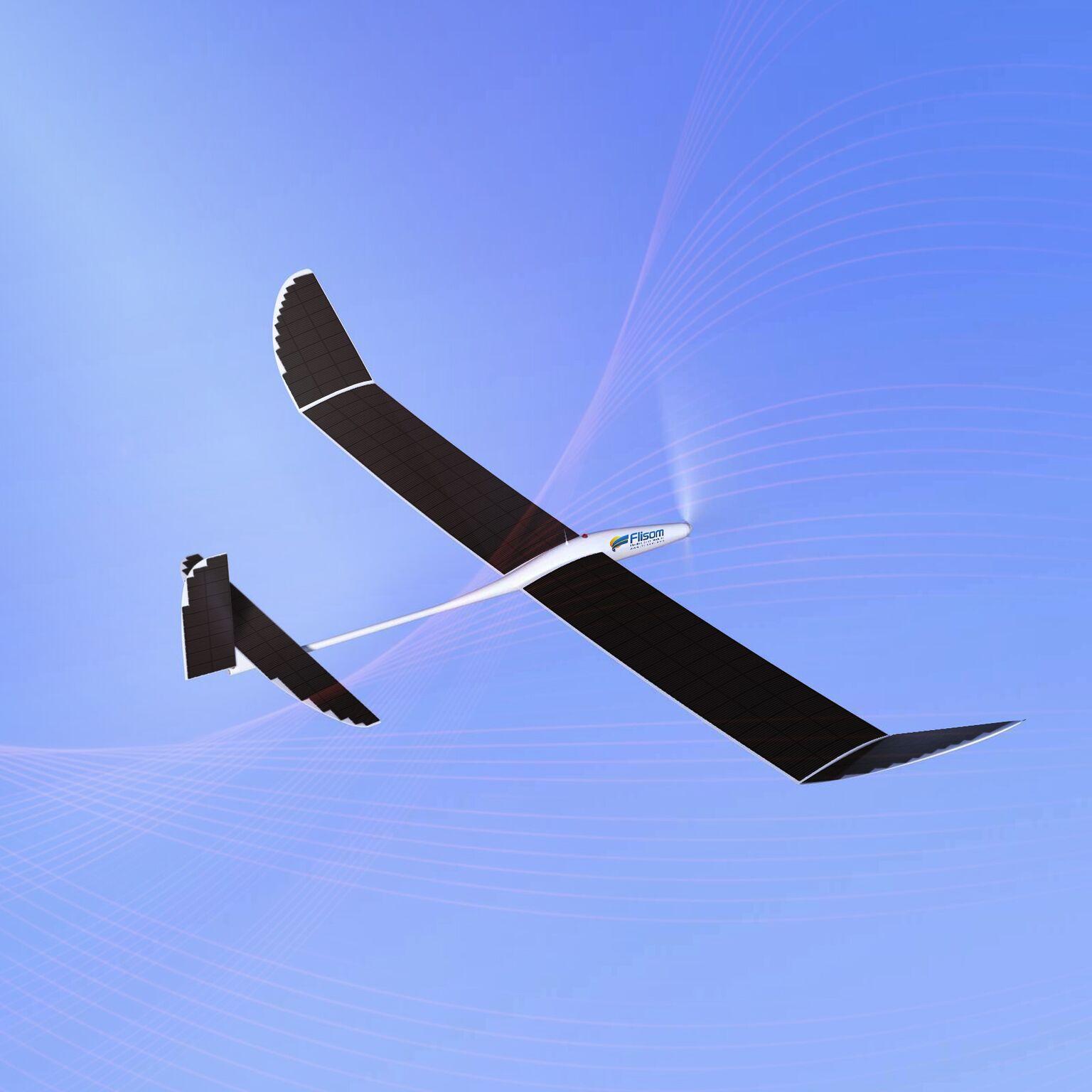 light solar drone