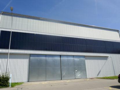 BIPV facade cladding