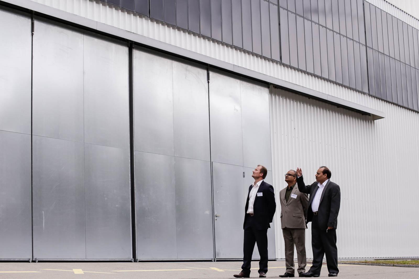 Flisom solar facade system