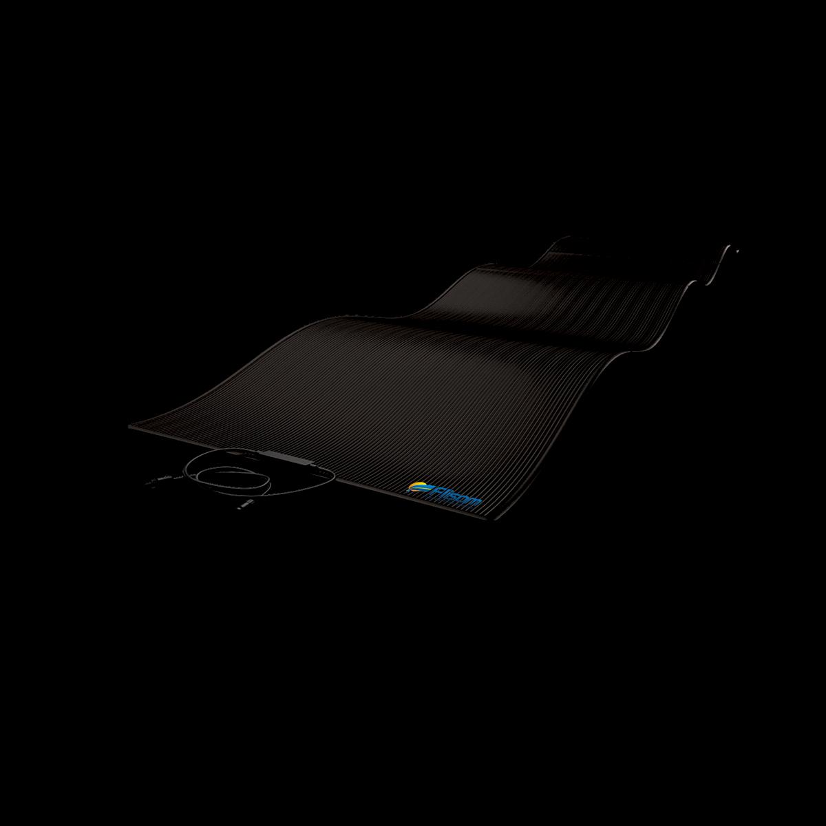 Lightweight peel and stick solar solution