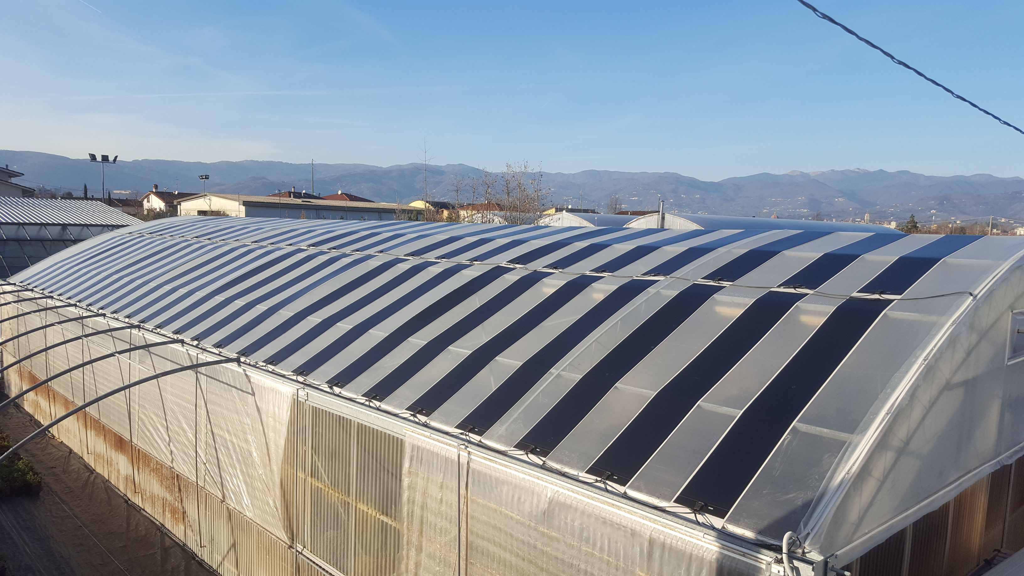 Flisom's lightweight, jet black and ultra-thin, flexible solar panels