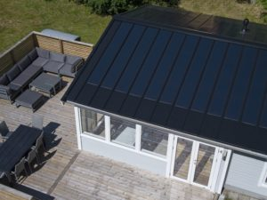Holiday cottage in Sweden with 3.84 kW installed capacity